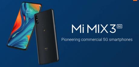 Xiaomi Mi Mix 3 5G, el primer smartphone 5G de Xiaomi