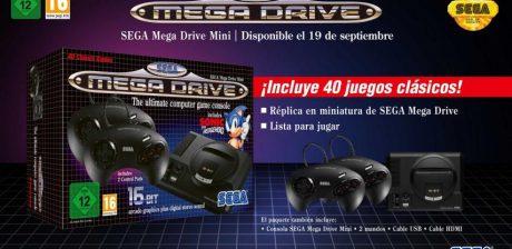 Confirmado el lanzamiento de Mega Drive Mini