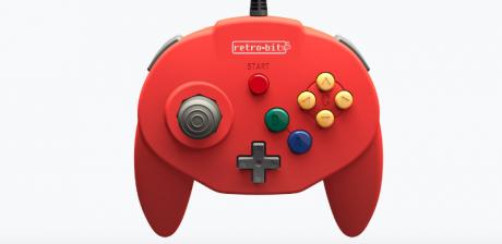 Retro-Bit lanzará un mando en homenaje a la Nintendo 64