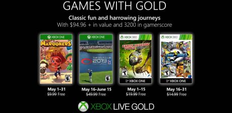 Games With Gold para el mes de mayo