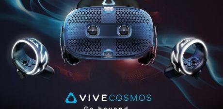 HTC Vive Cosmos, así son las nuevas gafas de realidad virtual
