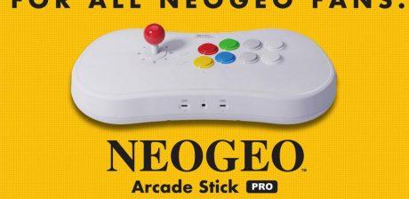 NeoGeo Arcade Stick Pro incorporará 20 juegos de lucha preinstalados