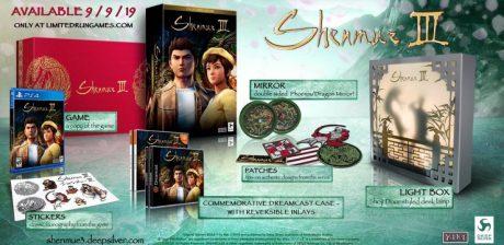 Así es la edición limitada de Shenmue III