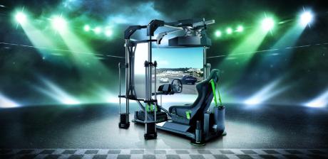 Razer presenta el concepto Razer eRacing Simulator, algo que alucinará a los fanáticos de los simuladores eRacing