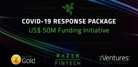 Razer aportará hasta 50$ millones para apoyar a los socios comerciales durante la lucha contra el COVID-19