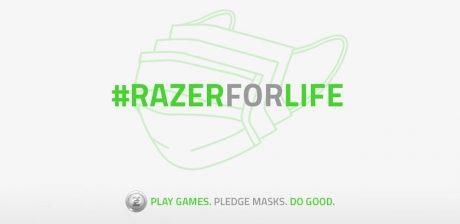 #RazerForLife, Razer une a la comunidad gaming en la lucha contra el Covid 19