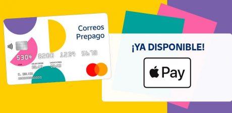 La tarjeta de prepago de Correos ya se integra en Apple Pay