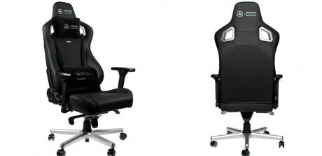 Noblechairs EPIC Mercedes-AMG, así es la nueva silla más cómoda y estilo total